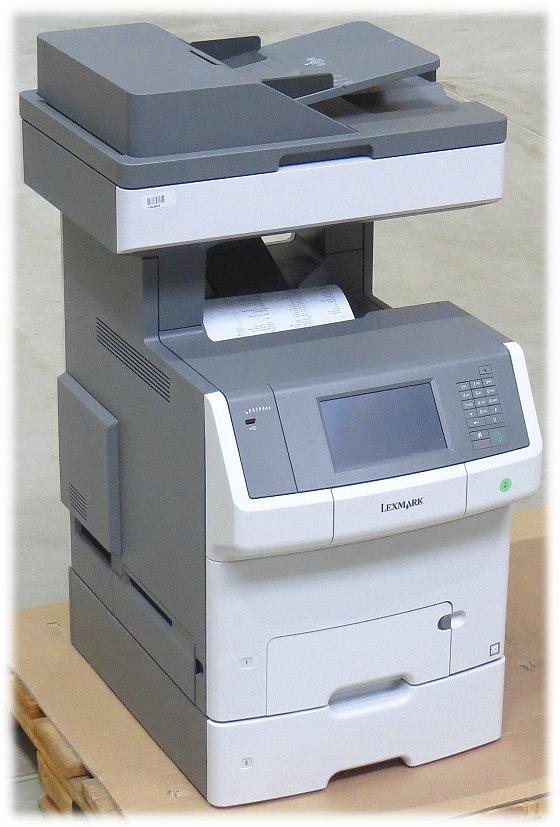 lexmark xs748dte all in one fax kopierer scanner. Black Bedroom Furniture Sets. Home Design Ideas