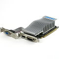 MSI GeForce N210 1GB PCIe x16 D-Sub DVI HDMI Low Profile passive Kühlung Silent