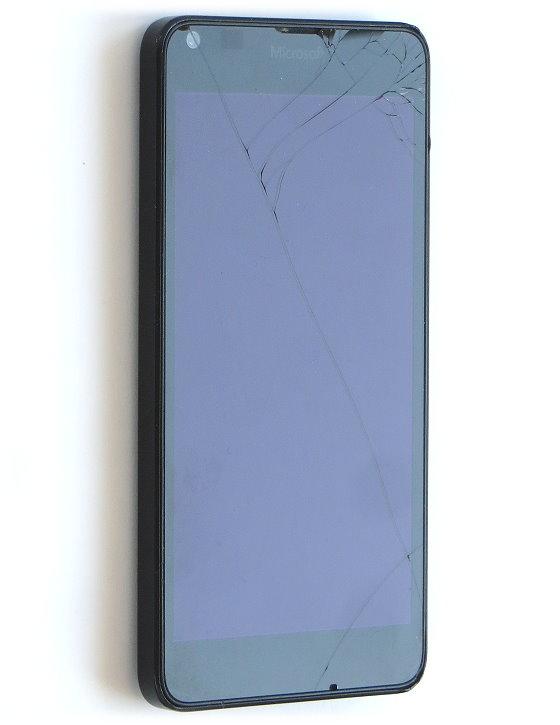 Microsoft Lumia 640 LTE Smartphone 8GB SIMlock-frei C- Ware Glasbruch