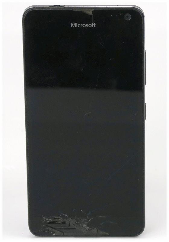 Microsoft Lumia 650 16GB C- Ware Glasbruch ohne Akku/Akkudeckel ohne Ladegerät