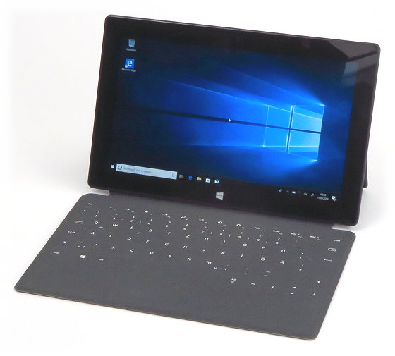 "Microsoft Surface Pro Core i5-3317U @ 1,7GHz 4GB 128GB SSD Win 10 Pro 64 Bit 10,6"""