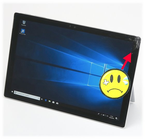 Microsoft Surface Pro 4 Core i5-6300U @ 2,4GHz 8GB 256GB SSD Win10 Pro C- Ware