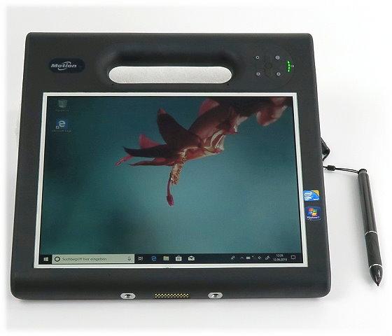 """Motion Computing MC-F5 i5-560UM @ 1,33GHz 2GB 62GB SSD 10,4"""" AFSS+ mit Gorilla Glass"""
