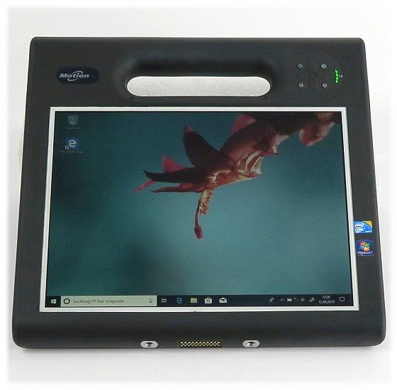 "Motion Computing MC-F5 i5-560UM @ 1,33GHz 2GB 62GB SSD 10,4"" Outdoor Tablet ohne Stift B- Ware"