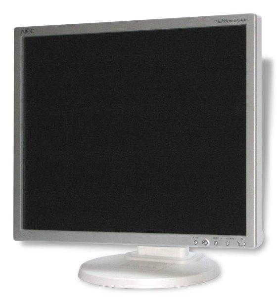 "19"" TFT LCD NEC MultiSync EA190M 1280 x 1024 Pivot Monitor ohne Anschlußabdeckung"