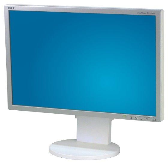 "22"" TFT LCD NEC MultiSync EA221WMe Pivot 1680x1050 Monitor defekt an Bastler"