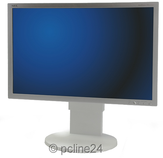 "24"" TFT LCD NEC MultiSync EA241WM weiß 5ms USB-Hub Pivot"
