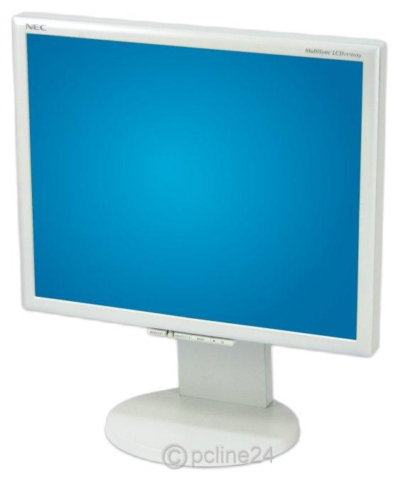 """19"""" TFT NEC multiSync LCD 1970NX S-IPS VGA DVI Monitor"""