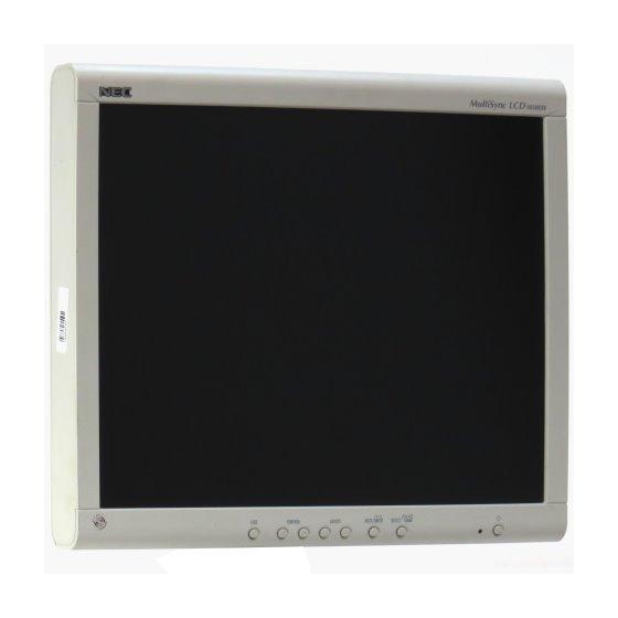 "18"" TFT NEC MultiSync LCD 1850DX 1280 x 1024 Monitor ohne Standfuß B- Ware"