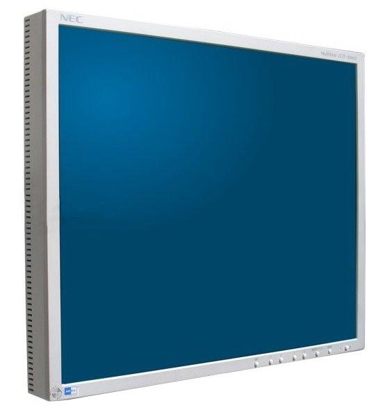 "18"" TFT NEC MultiSync LCD 1880SX 1280 x 1024 Monitor ohne Standfuß"