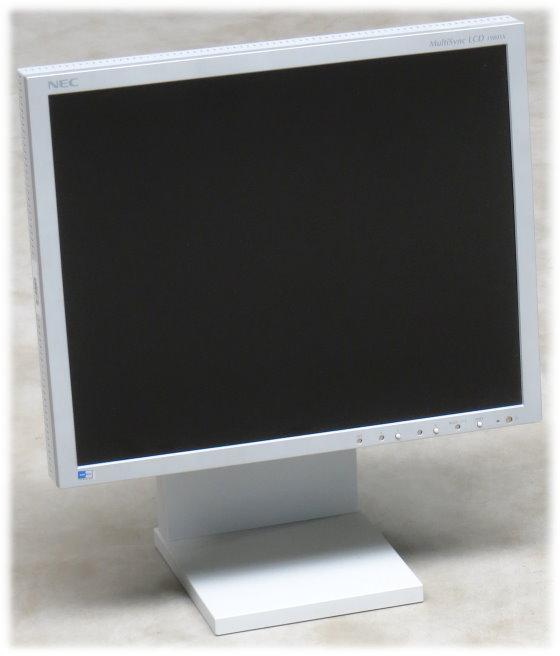 "19"" TFT NEC MultiSync LCD 1980SX 1280 x 1024 Pivot PVA Monitor ohne Steuerungstasten"