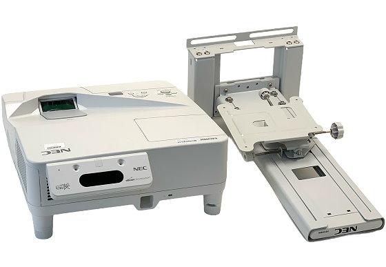 NEC NP-UM280WG Ultra-Kurzdistanz Beamer 2800ANSI/Lu inkl. Wandhalterung unter 1000Std.