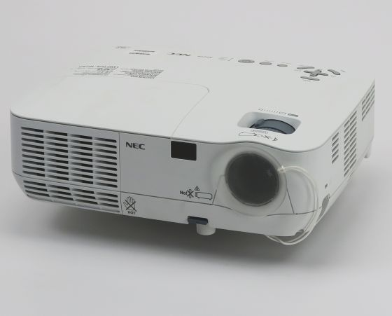 NEC NP210 LCD Beamer defekt für Bastler