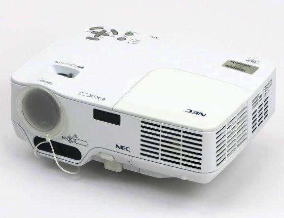 Nec NP41 DLP Beamer Projektor 2300ANSI/LU Lampe unter 2000 Std B-Ware