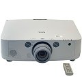 NEC PA500U Beamer LCD 5000ANSI/Lu FullHD BNC HDMI + Fernbedienung