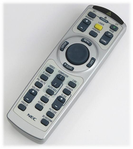 NEC RD-406E Fernbedienung Remote Control original für Beamer Projektor