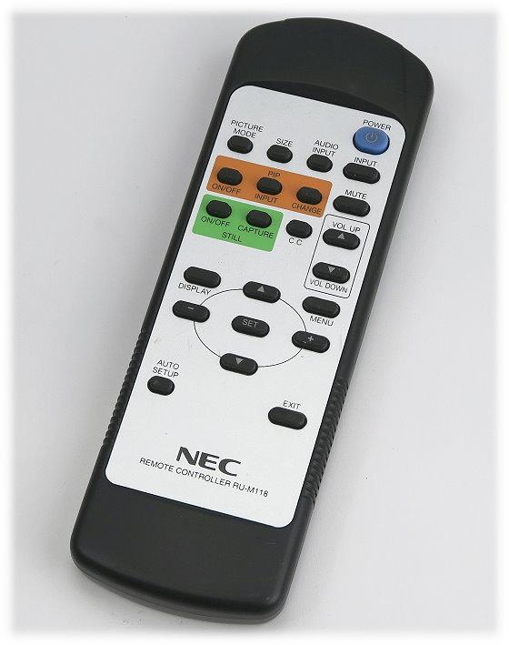 NEC RU-M118 Fernbedienung Remote Control original