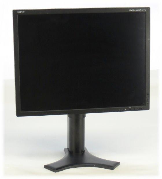 "21"" TFT LCD NEC multiSync LCD2190UXp S-PVA Pivot 1600 x 1200 Monitor schwarz"