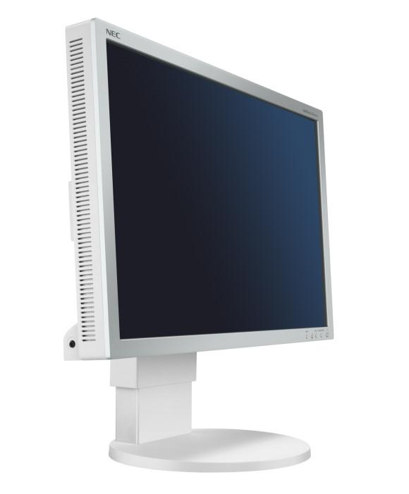"19"" LCD TFT NEC Monitor EA191M DVI VGA Pivot 1500:1 B-Ware"
