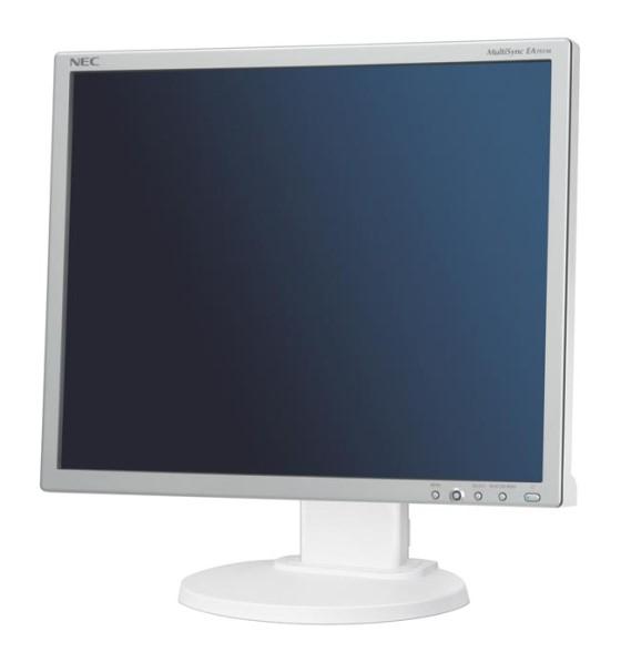"""19"""" TFT NEC MultiSync EA192M 1000:1 Lautsprecher Pivot silber-weiß"""