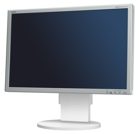 "24"" TFT LCD NEC MultiSync EA241WM Pivot 1920 x 1200 Monitor vergilbt"