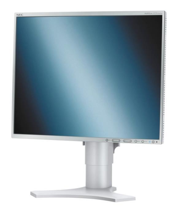 """19"""" LCD TFT NEC MultiSync LCD1990FXp 1500:1 DVI Pivot"""