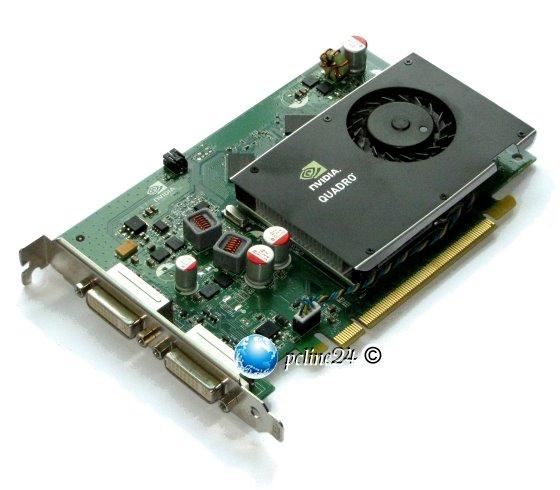 NVIDIA Quadro FX380 256MB GDDR3 PCIe x16 2x DVI Grafikkarte