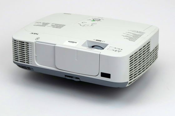 Nec M300X LCD Beamer defekt für Bastler ohne Lampe