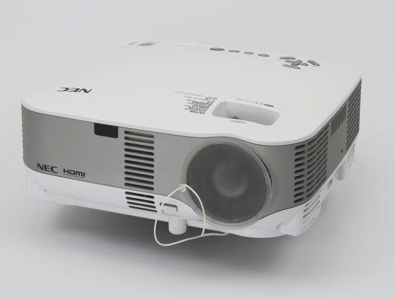 NEC NP901W LCD Beamer USB LAN WLAN HDMI Lampe unter 3000 Stunden B-Ware