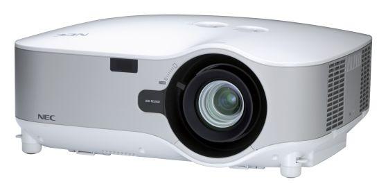 NEC NP1250 LCD Beamer Projektor LAN 3700ANSI 600:1  (ohne WLAN-Modul)