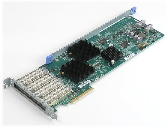 NetAPP X2065A PCIe x8 Interface Karte 4x QSFP SAS 3G/6G Tape/Disk Controller
