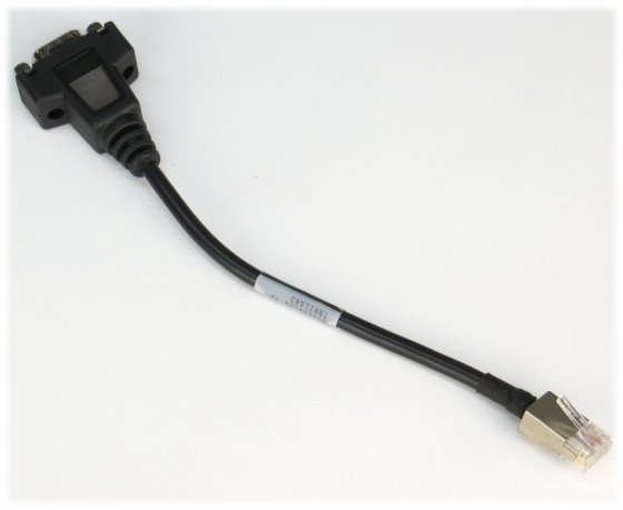 NetApp Console Cable RJ45 to DB9 (RS-232, seriell) Adapter Kabel 112-00054