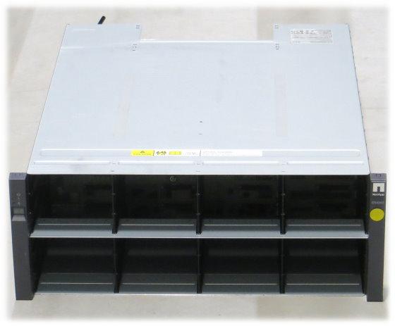 NetApp DS4243 SAS Data Storage 4x PSU 580W 2x IOM3 111-00128+A0 4HE