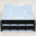 """NetApp DS4246 SAS Data Storage 4x PSU 580W 2x 111-00868+B1 19"""" Rack"""