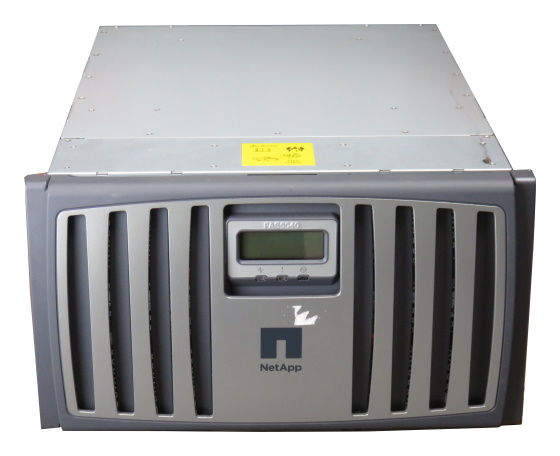 NetApp FAS6040 Filer 16GB RAM 8x 4Gb SFP 2x 890W PSU