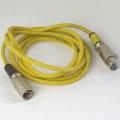 Neutrik XLR Audio Kabel gelb 2m Cable Patch