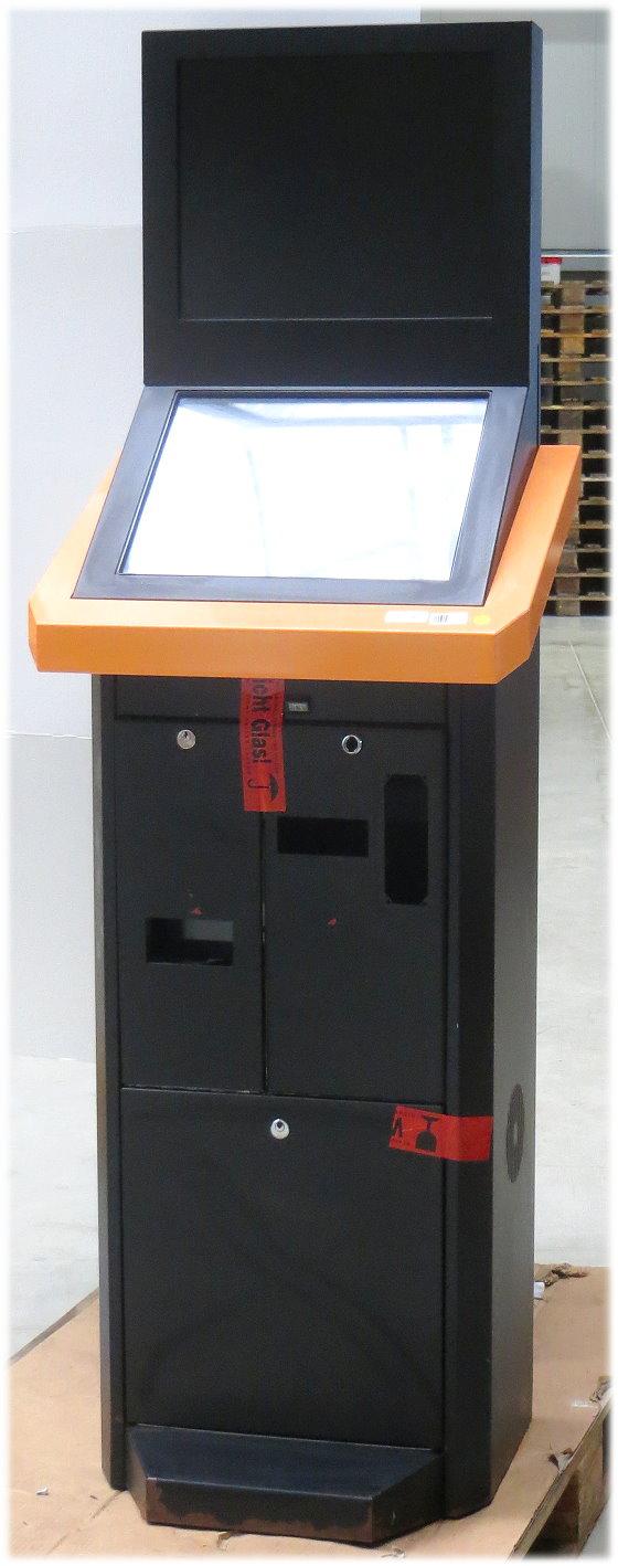"""Wettterminal 19"""" Touchscreen + 19"""" Monitor Infoterminal Gehäuse ohne PC B-Ware"""