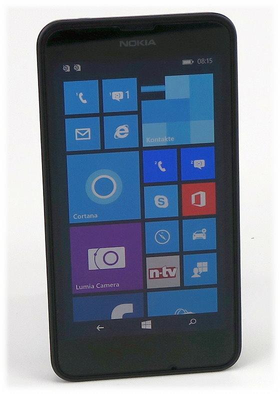 "Nokia Lumia 630 Dual Sim 8GB Smartphone 4,5"" ohne SIMlock"