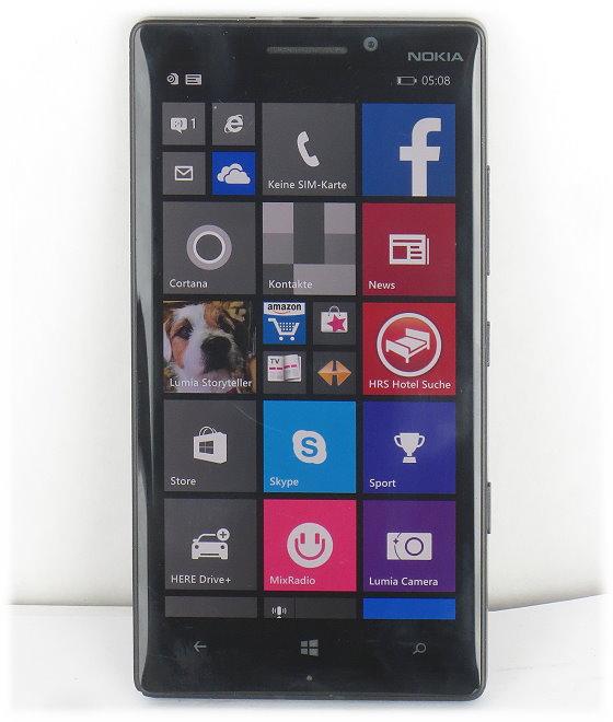 Nokia Lumia 930 Smartphone 32GB LTE SIMlock-frei Kratzer B-Ware