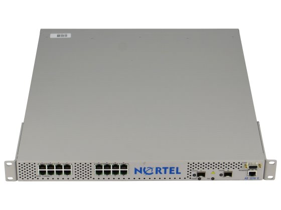 Nortel AS 2216E 16 Port Fast Ethernet Switch 10/100 Mbit + 2x SFP