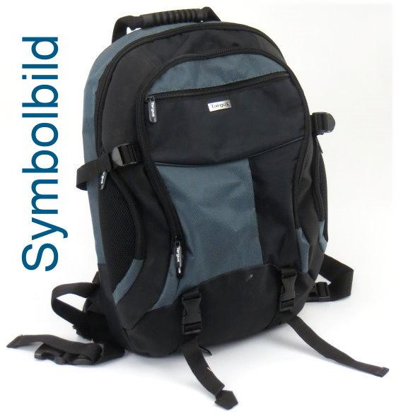 """Notebook Rucksack bis 15,6"""" Zoll Nylon Laptop Bag"""