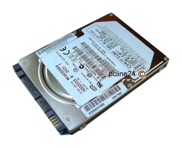 2,5\' Hitachi Travelstar 160GB SATA 7K500 HTS725016A9A364 7.2k 7200RPM 16MB