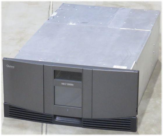 Overland NEO 2000E Tape Library 30 slots defekt für Bastler