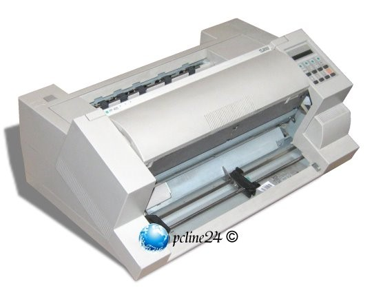 PSI PP 405 Standard Nadeldrucker 24-Nadel 600 Zeichen/Sek DIN A3 ohne Frontklappe