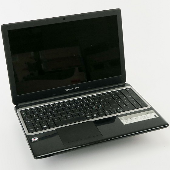 Packard Bell Easynote TE69KB Quad Core 1,3GHz (o. NT/HDD Akku def) norw. B-Ware