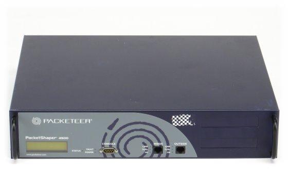 Packeteer PacketShaper PS 4500 Bandbreiten Management im 19 Zoll Rack ohne Betriebssystem