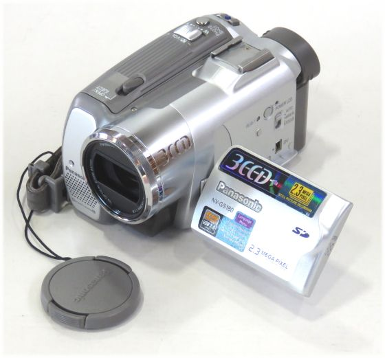 Panasonic NV-GS180 EG 3CCD-Camcorder 2,3Megapixel
