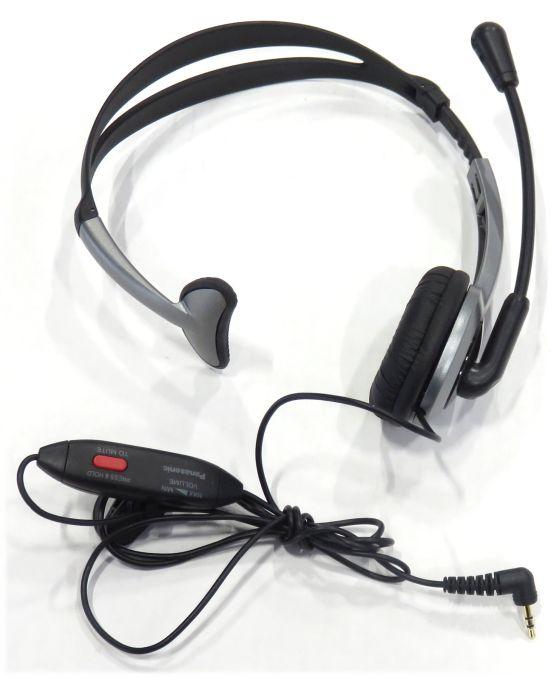 Panasonic RP-TCA430 Headset Kopfhörer für KX-TGxx Serie