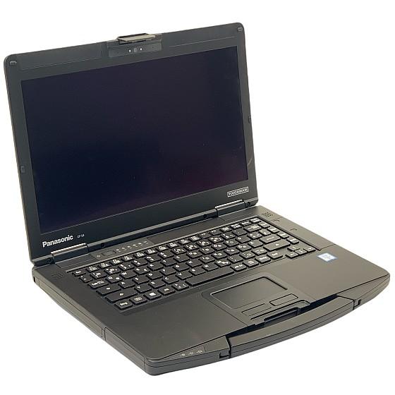 Panasonic Toughbook CF-54 MK2 FHD i7-6600U 2,6GHz 16GB 512GB SSD Webcam BIOS PW
