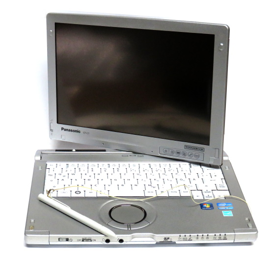 Panasonic Toughbook CF-C1 Core i5 2520M @ 2,5GHz 4GB 128GB SSD Touchscreen UMTS 2in1 Tablet